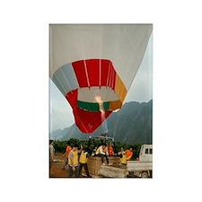 Hot air balloon Rectangle Magnet