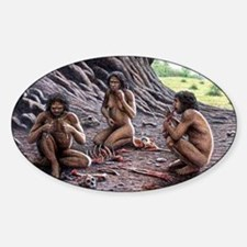 Homo antecessor Sticker (Oval)
