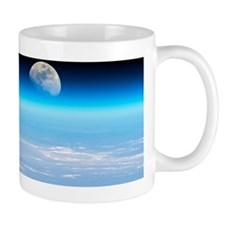 Moonrise over Earth Mug