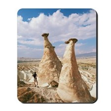 Hoodoo rock formations Mousepad