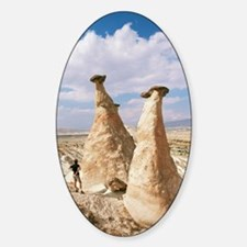 Hoodoo rock formations Decal