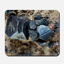 Monazite crystals Mousepad