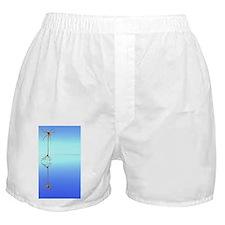 Mirror neuron, conceptual image Boxer Shorts