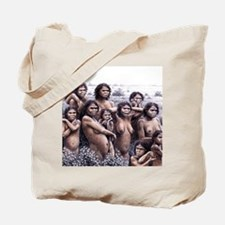 Homo ergaster females and young Tote Bag