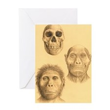 Homo georgicus Greeting Card