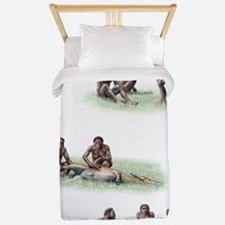 Homo ergaster behaviour Twin Duvet