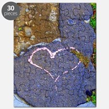 heart in stone Puzzle