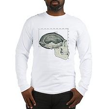 Homo erectus skull Long Sleeve T-Shirt