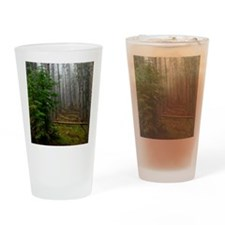 Pine forests 2 Drinking Glass