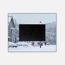 Heavy snowfall, Braemar, Scotland Picture Frame