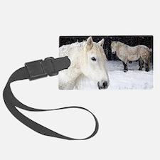 Highland ponies Luggage Tag