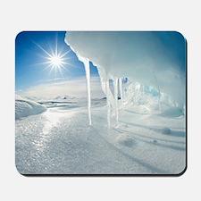 Melting Arctic ice, Canada Mousepad