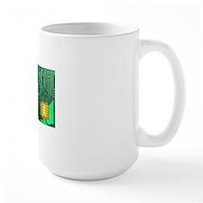 Microchip sales, conceptual image Mug