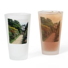 Herbaceous borders Drinking Glass