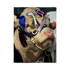 Hereford bull Twin Duvet
