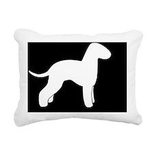 bedlingtonLP Rectangular Canvas Pillow
