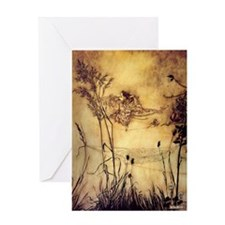 Fairies' Tightrope Greeting Cards
