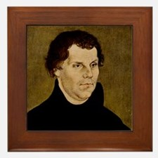 Martin Luther, German theologian Framed Tile