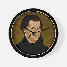 Martin Luther, German theologian Wall Clock