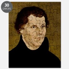 Martin Luther, German theologian Puzzle