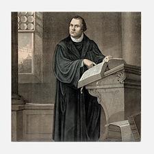 Martin Luther, German theologian Tile Coaster