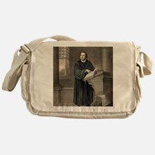 Martin Luther, German theologian Messenger Bag