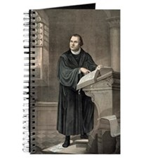 Martin Luther, German theologian Journal