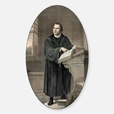 Martin Luther, German theologian Decal
