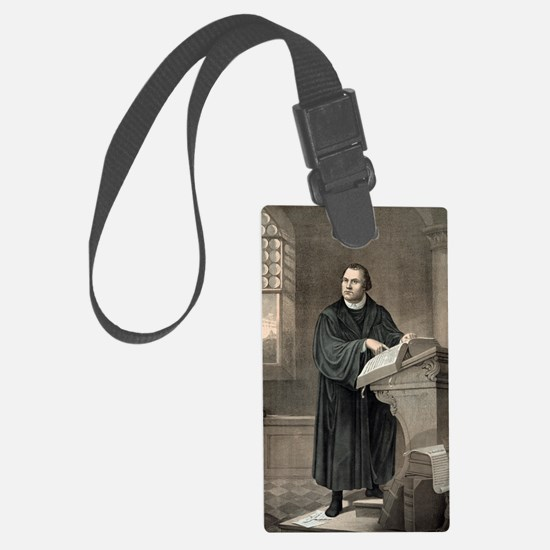 Martin Luther, German theologian Luggage Tag