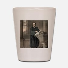 Martin Luther, German theologian Shot Glass