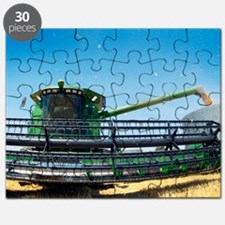 Harvesting wheat grain Puzzle