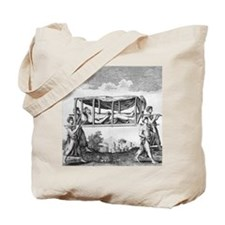 Man travelling in a palanquin Tote Bag