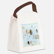 Marine life specimens Canvas Lunch Bag