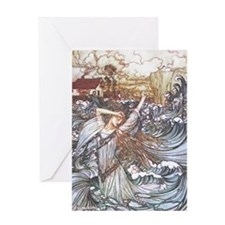 Undine Greeting Cards