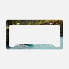 Marble Canyon, Canada License Plate Holder