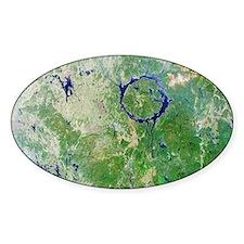 Manicouagan Crater, Canada Decal