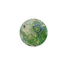 Manicouagan Crater, Canada Mini Button
