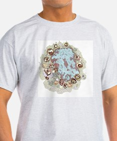 Macrophage cell, TEM T-Shirt
