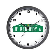 JF Kennedy Bl., Philadelphia (US) Wall Clock