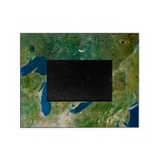 Great Lakes, satellite image Picture Frame