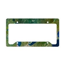 Great Lakes, satellite image License Plate Holder