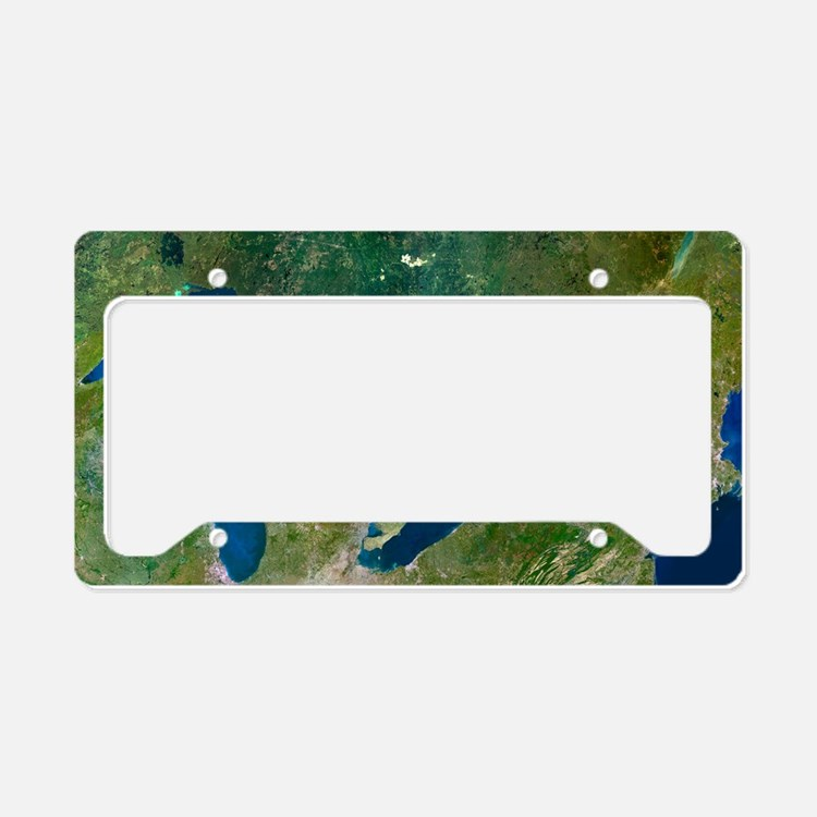 Great Lakes Of Michigan Licence Plate Frames Great Lakes