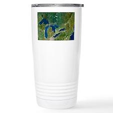 Great Lakes, satellite image Travel Mug