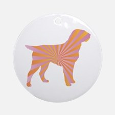 Griffon Rays Ornament (Round)