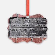Greenwich Meridian marker Ornament