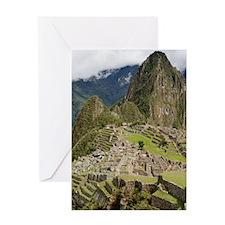 Machu Picchu, Peru Greeting Card