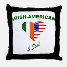Irish Heart & Soul Throw Pillow