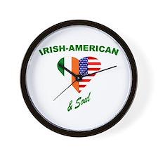 Irish Heart & Soul Wall Clock