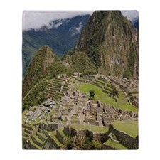 Machu Picchu, Peru Throw Blanket