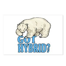 Got hybrid? Postcards (Package of 8)